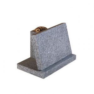 EC248 Light Grey granite with flower vase rest
