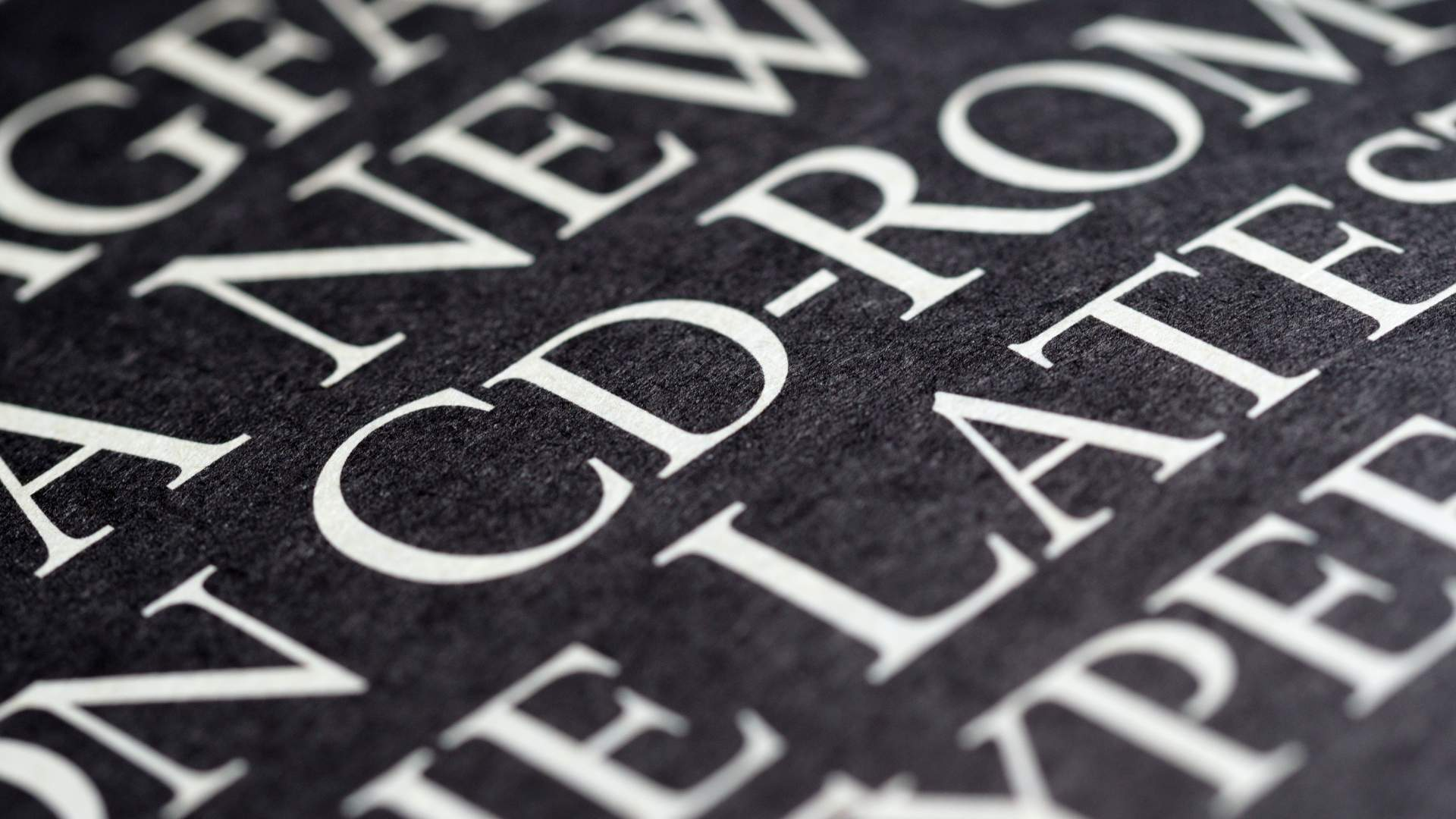 Inscription font for headstones