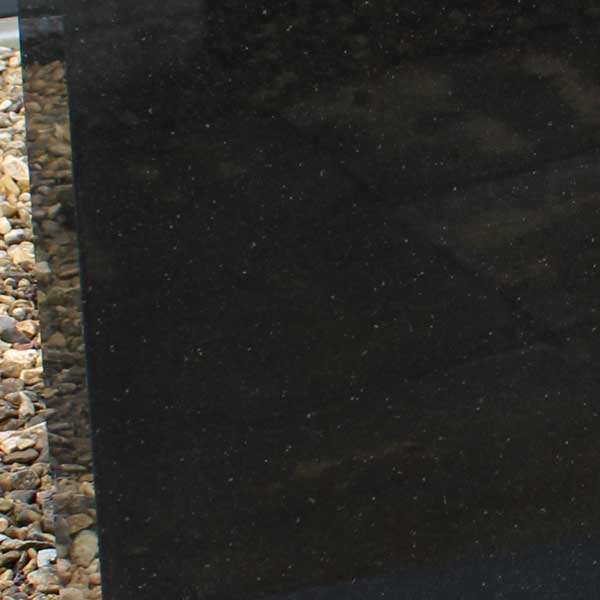 Thornhill Memorials Black Granite Headstone