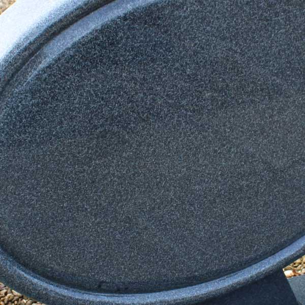 Thornhill Memorials Blue Pearl Granite Oval Headstone