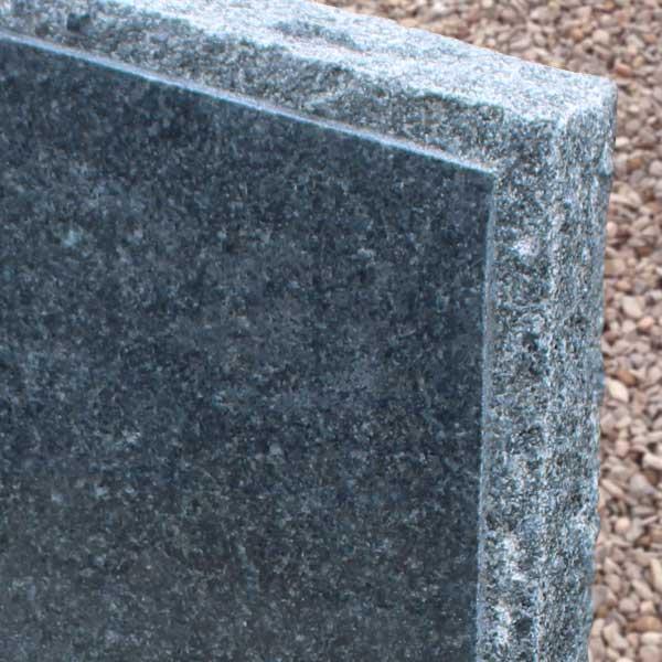 Thornhill Memorials Blue Pearl Granite Rustic Edges