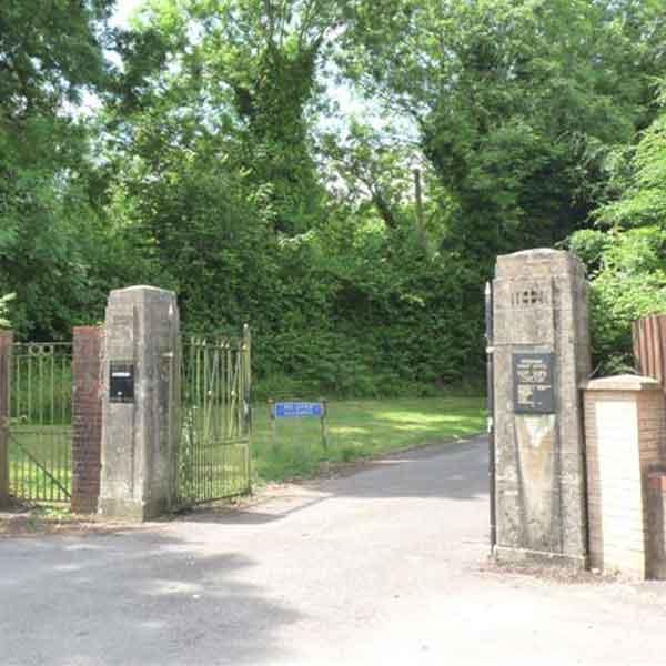 Pantmawr Cemetery Entrance